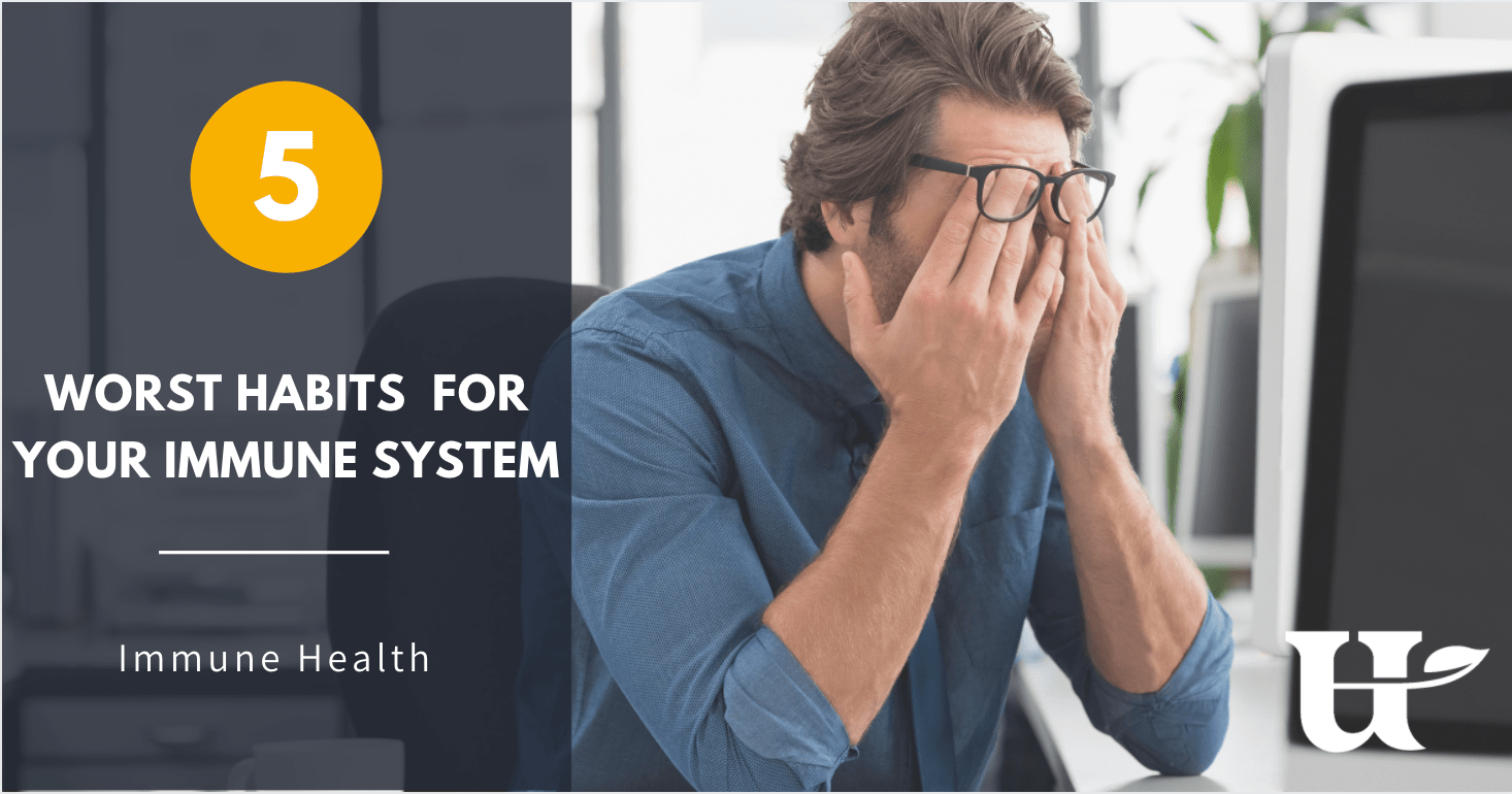 5 Habits That Are Ruining Your Immune System