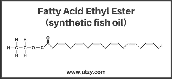 Ethyl Ester Form Fish Oil Structure