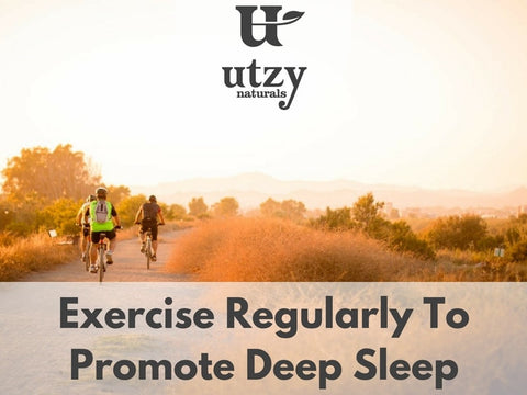 Exercise Promotes Sleep At Night