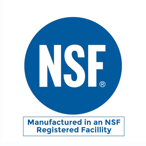 NSF GMP Manufacturing Supplements