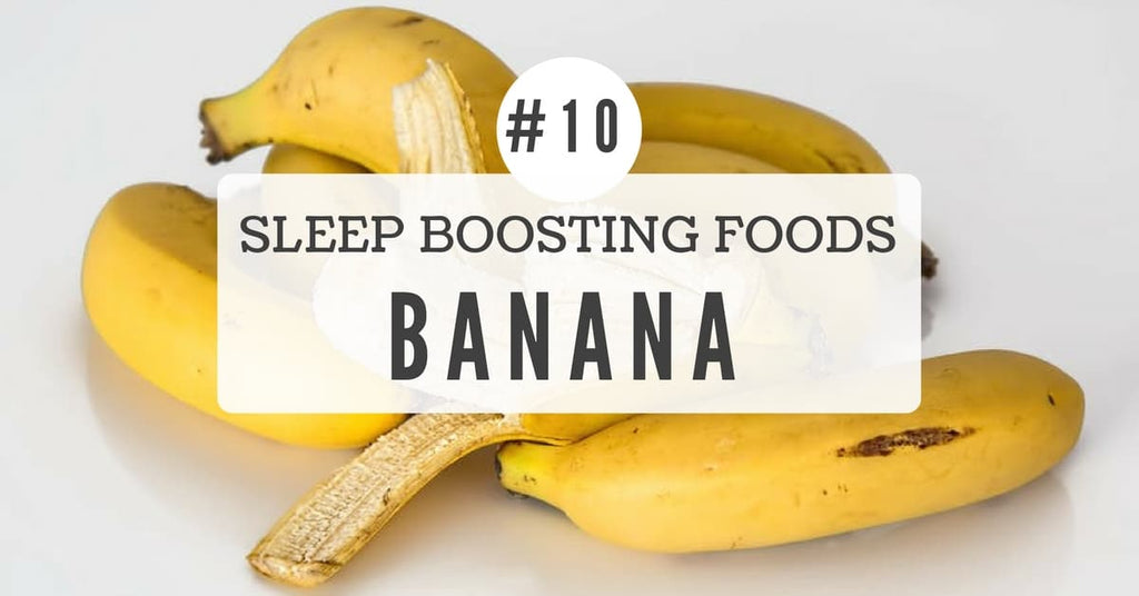 Sleep benefits of Banana