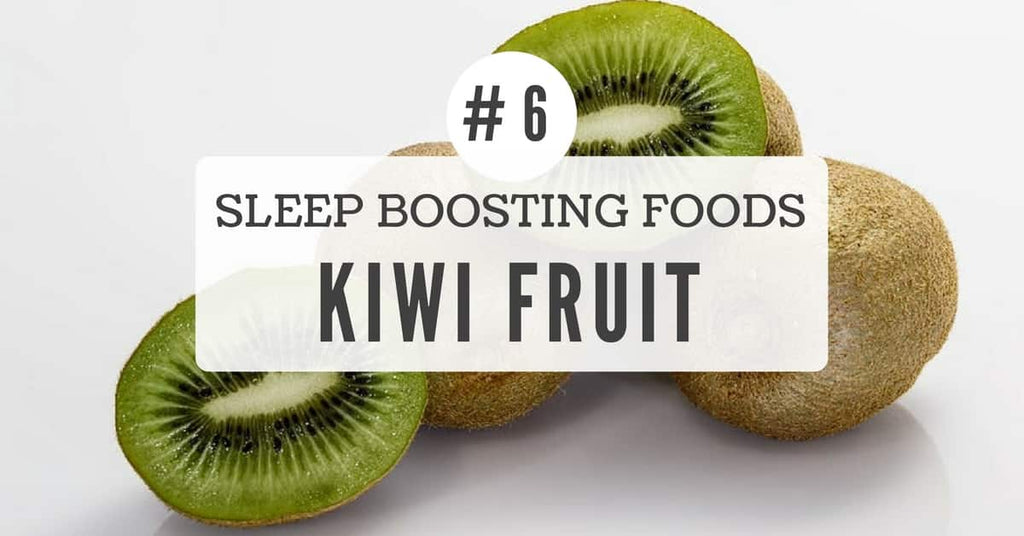 Sleep benefits of kiwi fruit