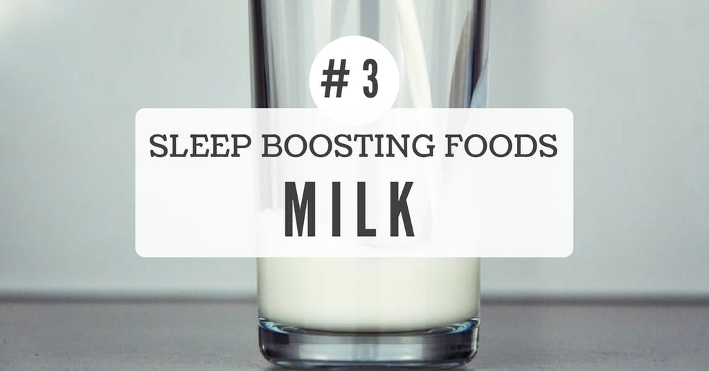 Sleep benefits of Milk