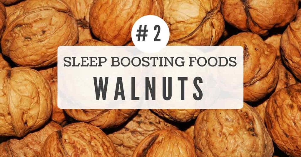 Sleep benefits of walnuts