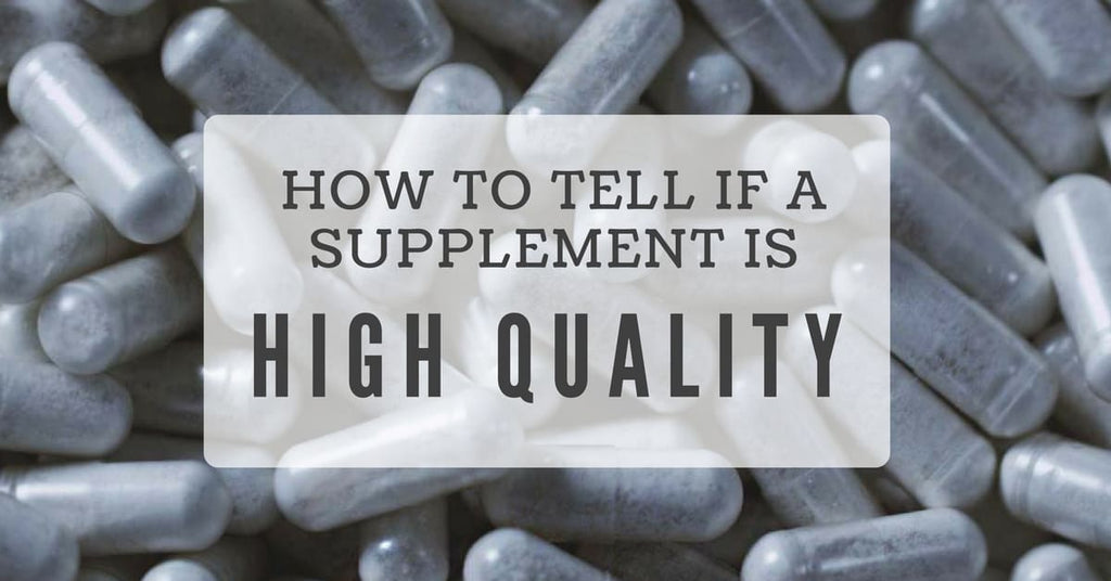How to find a high quality supplement