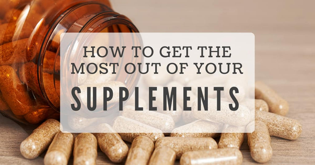 optimize your supplement intake