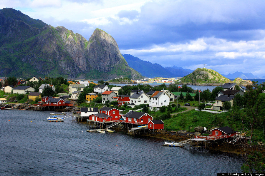 Fishing Town Norway