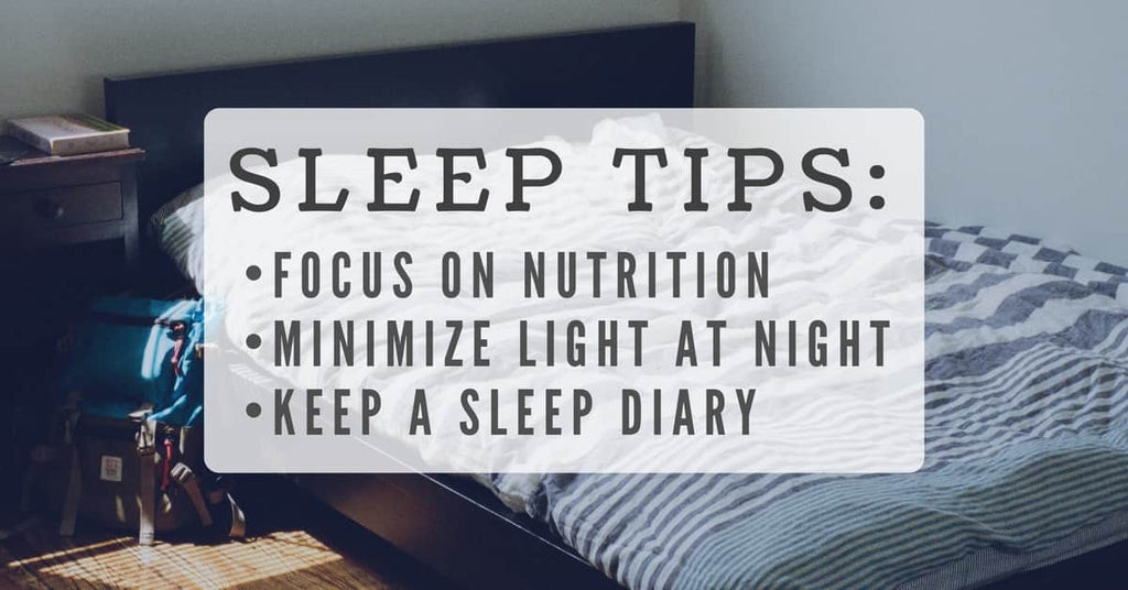 sleep improvement tips