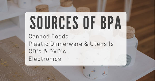 sources of BPA in your house