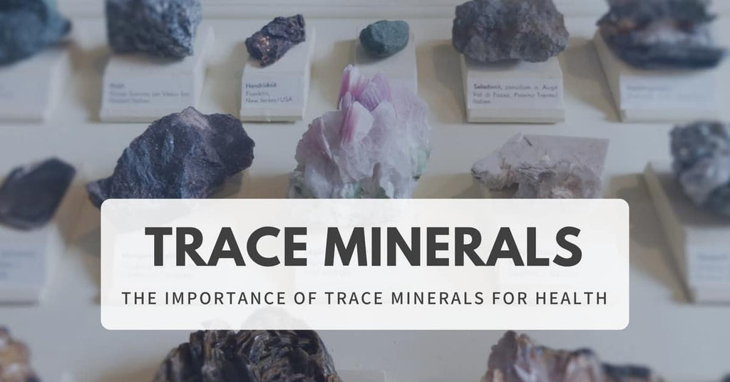 trace minerals for health