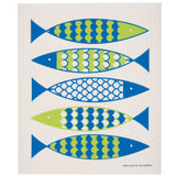 SWEDISH DISHCLOTH -- FISH