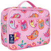 INSULATED LUNCH BOX -- PINK PAISLEY