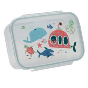 CLIP-TOP LUNCH BOX -- OCEAN