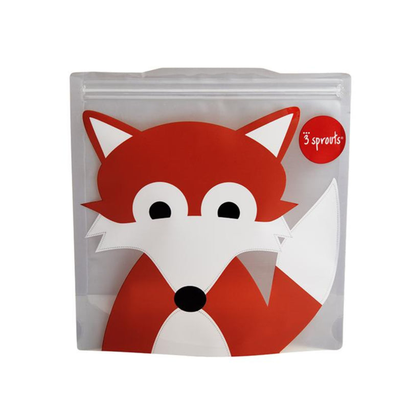 SANDWICH BAG 2PK -- FOX