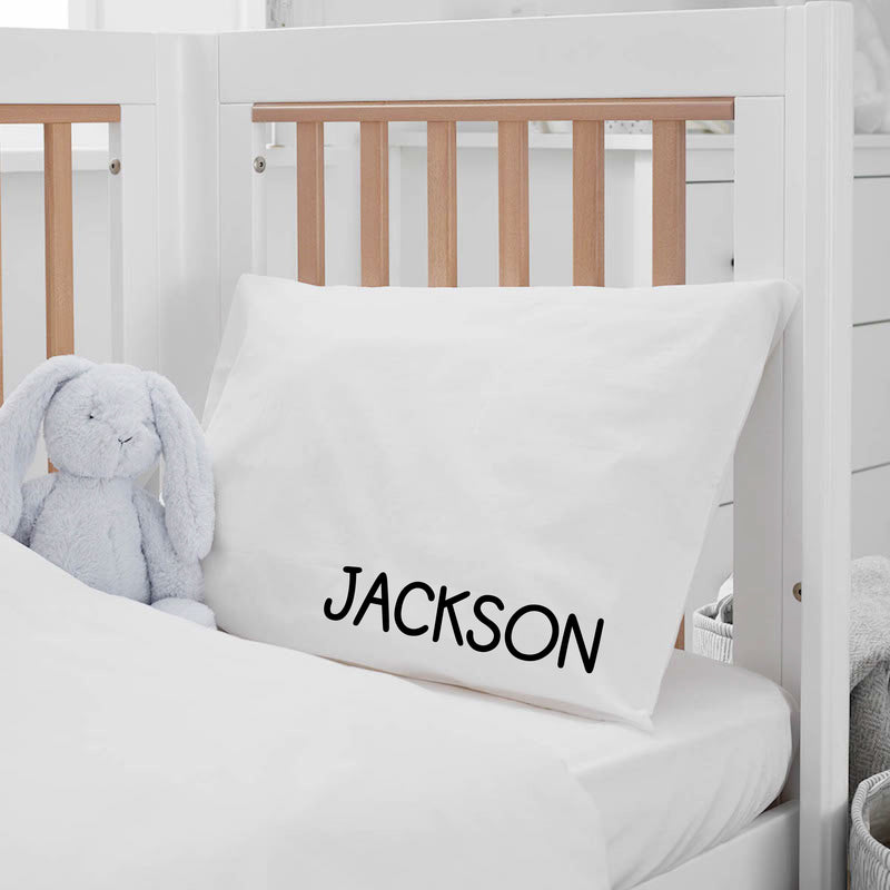 PERSONALIZED STANDARD PILLOWCASE -- CAPSLOCK