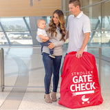 STANDARD & DOUBLE STROLLER GATE CHECK BAG