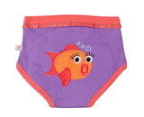 3 PACK POTTY TRAINING PANTS -- GIRL'S OCEAN (100% ORGANIC COTTON!)
