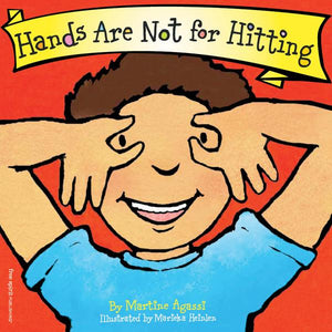 HANDS ARE NOT FOR HITTING (BOARD BOOK)