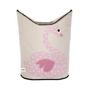 LAUNDRY HAMPER -- SWAN