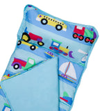 MICROFIBER NAPMAT -- TRAINS, PLANES, & TRUCKS