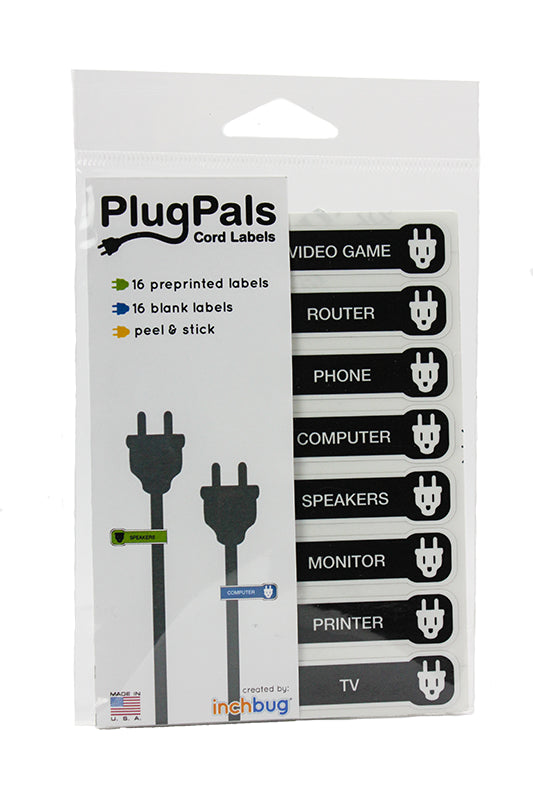 PLUGPALS CORD LABELS