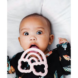 SILICONE TEETHER -- RAINBOW