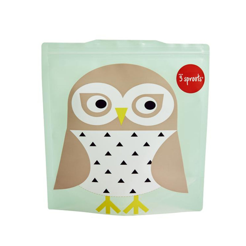 SANDWICH BAG 2PK -- OWL