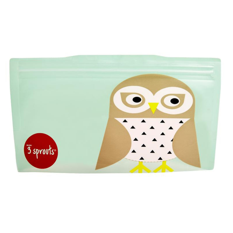 SNACK BAG 2PK -- OWL
