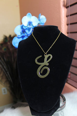 E Necklace