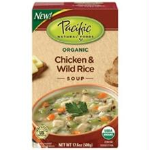 Pacific Natural Chicken & Wild Rice Soup (12x17.6oz)