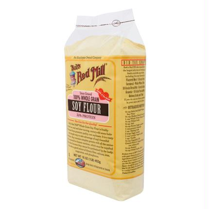 Bob's Stone Ground Soy Flour ( 4x16 Oz)