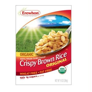 Erewhon Crispy Brown Rice Cereal Gluten Free (12x10 Oz)