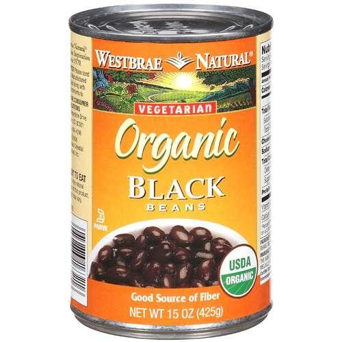 Westbrae Foods Black Beans Fat Free (12x15 Oz)