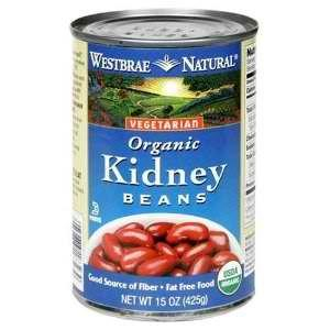 Westbrae Foods Kidney Beans Fat Free (12x15 Oz)