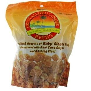 Reed's Ginger Beer Crystallized Ginger With Raw Sugar ( 1x11lb)