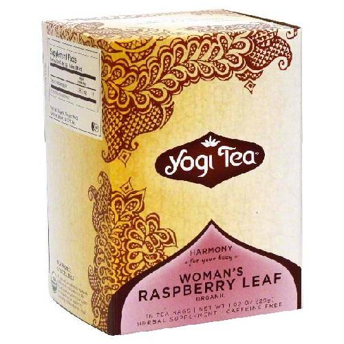 Yogi Woman's Raspberry Leaf Tea (6x16 Bag)