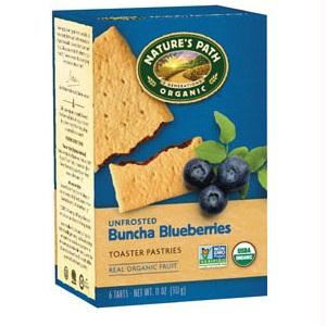 Nature's Path Un-frosted Blueberry Toaster Pastry (12x11 Oz)