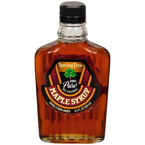 Spring Maple Syrup Grade A Maple Syrup Glass (12x8.5 Oz)