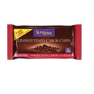 Sunspire Unsweetened Carob Chips ( 12x10 Oz)