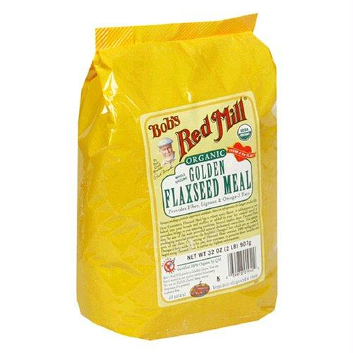 Bob's Red Mill Golden Flaxseed Meal Gluten Free (4x32 Oz)