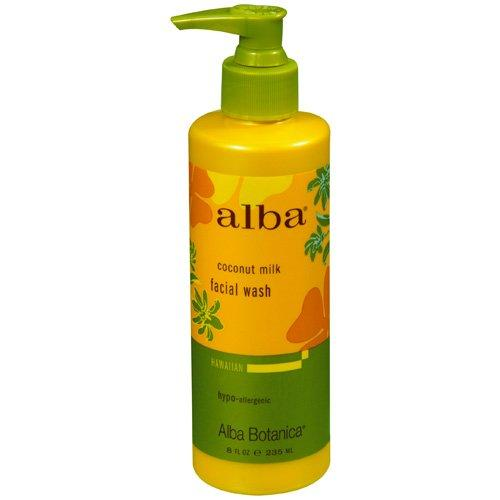 Alba Botanica Coconut Milk Facial Wash (1x8 Oz)