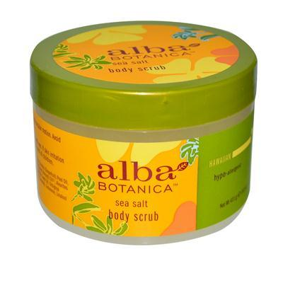 Alba Botanica Sea Salt Body Scrub (1x14.5 Oz)
