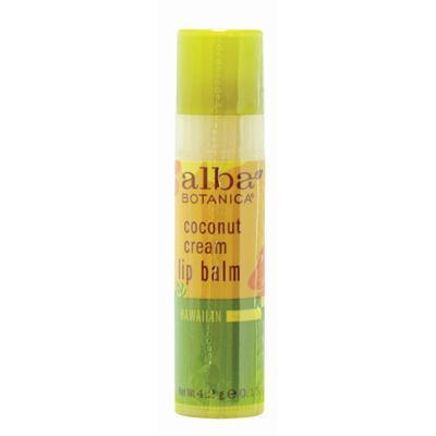 Alba Botanica Coconut Cream Lip Balm (24x.15 Oz)