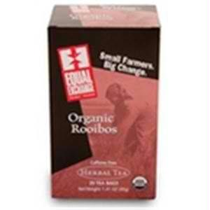 Equal Exchange Herbal Rooibos Tea (6x20 Bag)