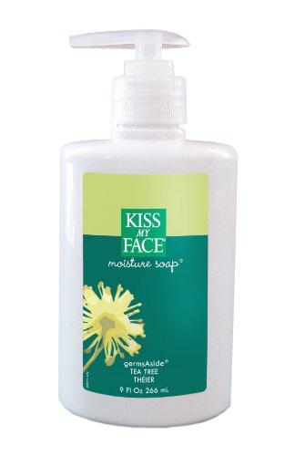 Kiss My Face Tea Tree Germsaside Moist Soap (1x9 Oz)