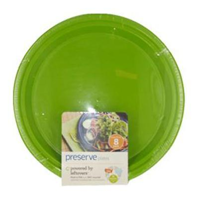 Preserve Apple Green Large Plates (12x8 Ct)