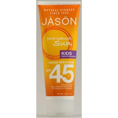 Jason's Kids Sunscreen Spf 45 (1x4 Oz)