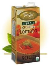 Pacific Natural Foods Bisque, Hearty Tomato (12x17.6oz)