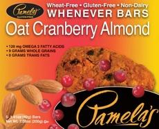 Pamela's Oat Cranberry Almond Bars (6x5 Ct)