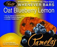 Pamela's Oat Blueberry Lemon Bars (6x5 Ct)